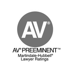 Martindale-Hubbell, Rated AV Preeminent