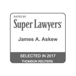 James Askew, Selected to Super Lawyers 2017